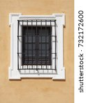 Window With Iron Bar Grill In...