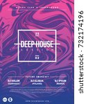 """deep house"" party poster.... 