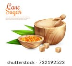 cane sugar background with...   Shutterstock .eps vector #732192523