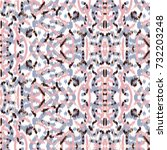 Small photo of Ikat Ogee Background Pattern