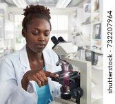 african american female...   Shutterstock . vector #732207964