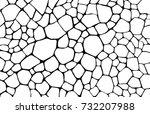 desert ground. abstract... | Shutterstock .eps vector #732207988