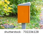 Orange Mail Collection Box In...