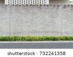 street wall background ... | Shutterstock . vector #732261358