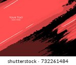 bright grungy background.... | Shutterstock .eps vector #732261484
