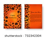 cover of the catalog with... | Shutterstock .eps vector #732342304