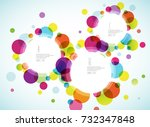 random colorful bubbles with...   Shutterstock .eps vector #732347848