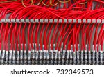 wiring   control panel with... | Shutterstock . vector #732349573