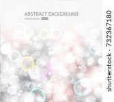 vector glittery lights silver... | Shutterstock .eps vector #732367180