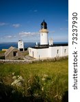 a lighthouse at dunnet head ...