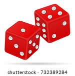 casino dice stock vector...