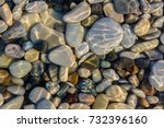 Sea Stones In The Sea Water....
