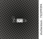 sponge icon. | Shutterstock . vector #732399394