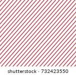 dot stripes background. red... | Shutterstock .eps vector #732423550