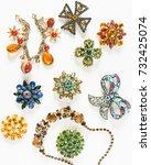 Woman's Jewelry. Vintage...