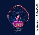 diwali | Shutterstock .eps vector #732449020