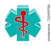 pharmacy icon | Shutterstock .eps vector #732450700