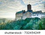 wartburg castle   eisenach ... | Shutterstock . vector #732454249