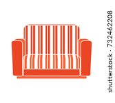 couch flat icon | Shutterstock .eps vector #732462208