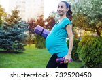 special classes for pregnant... | Shutterstock . vector #732520450