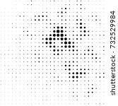 abstract grunge grid polka dot... | Shutterstock .eps vector #732529984