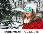 outdoors lifestyle close up... | Shutterstock . vector #732533848