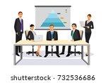a vector illustration of... | Shutterstock .eps vector #732536686