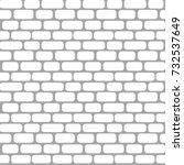 stone a masonry. vector... | Shutterstock .eps vector #732537649