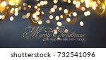 christmas and new year holidays ... | Shutterstock . vector #732541096