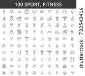 sport  fitness  soccer  karate  ...   Shutterstock .eps vector #732542416