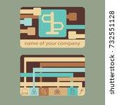 icon signpost | Shutterstock .eps vector #732551128