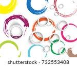 modern design | Shutterstock .eps vector #732553408