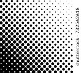 modern halftone background.... | Shutterstock .eps vector #732562618