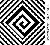 seamless tile with black white... | Shutterstock .eps vector #732567373