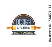 design and painting work tool... | Shutterstock .eps vector #732575458