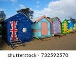 australia flag box   Shutterstock . vector #732592570
