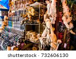 dead llamas fetuses and other... | Shutterstock . vector #732606130