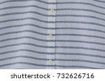 stripe blue linen natural... | Shutterstock . vector #732626716
