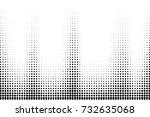 abstract vector background.... | Shutterstock .eps vector #732635068
