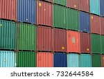 containers are stacking in the