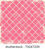 Grunge Pink Checkered Background