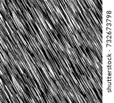 black and white texture of... | Shutterstock .eps vector #732673798