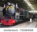 Steam Locomotive Train...