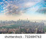 new york city   central park... | Shutterstock . vector #732684763