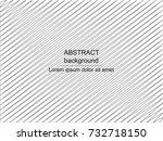 abstract geometric background.... | Shutterstock .eps vector #732718150