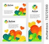 autism awareness day....   Shutterstock .eps vector #732725500