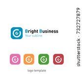 creative abstract logo design... | Shutterstock .eps vector #732727879