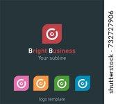 creative abstract logo design... | Shutterstock .eps vector #732727906