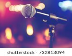 live music background... | Shutterstock . vector #732813094