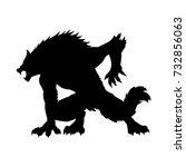 Werewolf Silhouette Ancient...